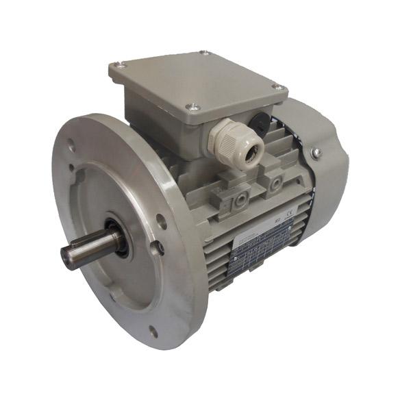 Energiesparmotor IE1 Elektromotor Drehstrommotor 0,55 KW 1500 U//min 230//400 V