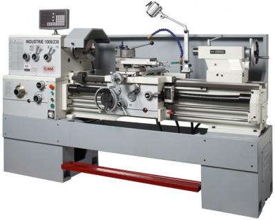 Elmag - INDUSTRIE 1000/230 K- Universal-Drehmaschine 400 V