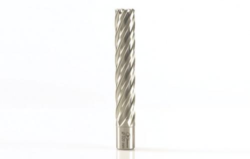 EUROBOOR HSS Kernbohrer Weldonschaft 19, 05 mm Verschiedene Größen 100 mm Schnitttiefe