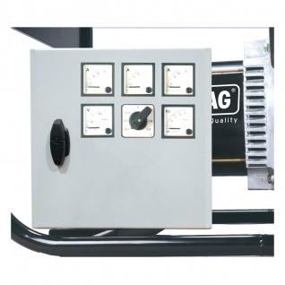 Elmag Spannungs-, 3xStromstärke- und Frequenzmessgerät mit Umschalter 3x400 Volt