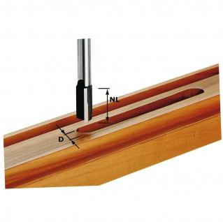FESTOOL Nutfräser HW Schaft 8 mm HW S8 D9/23 - 490958