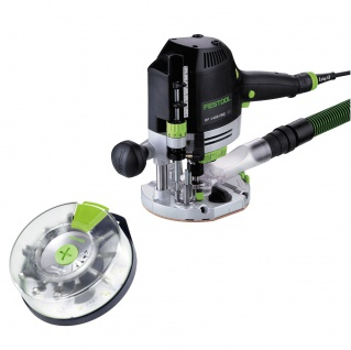 FESTOOL Oberfräse OF 1400 EBQ-Plus + Box-OF-S 8/10x HW inkl. Systainer - 574398