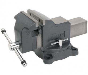 Wilton Werkstatt-Schraubstock Spannbackenbreite 150 mm - Sockel 360° drehbar