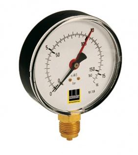 Schneider - MM-S 100-16b - Manometer für Behälter