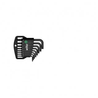 Wiha TORX®-Stiftschlüsselsatz kurz im Classic Halter - Brüniert, 8-tlg.