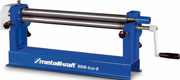 Metallkraft RBM 610-8 Rundbiegemaschine