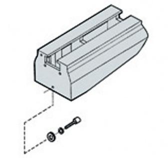 JET Maschinenbettverlängerung 560 mm für JWL-1221VS Drechselbank - Vorschau 1