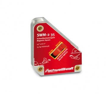Schweißkraft SWM - 2 35 - schaltbarer Schweißwinkelmagnet