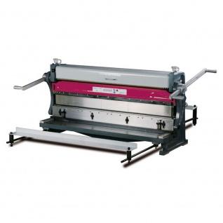 OPTIMUM SAR 1000 - Blechbearbeitungsmaschine 3 in 1. Rundbiegen, Abkanten und Schneiden