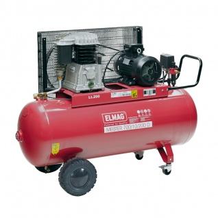Elmag MEISTER 700/10/200 D - Kompressor