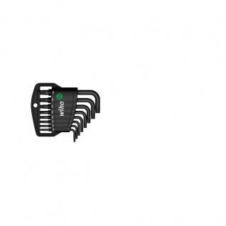 Wiha TORX® Tamper Resistant-Stiftschlüsselsatz im Classic Halter - Brüniert, 8-tlg.
