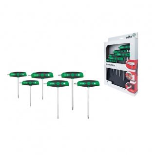 Wiha TORX®-Schraubendrehersatz mit ComfortGrip, 6-tlg. - 364DS K6