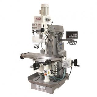 Elmag MFB 50 LGT - Getriebe Fräs- und Bohrmaschine inkl. Digitalanzeige - Vorschau 2