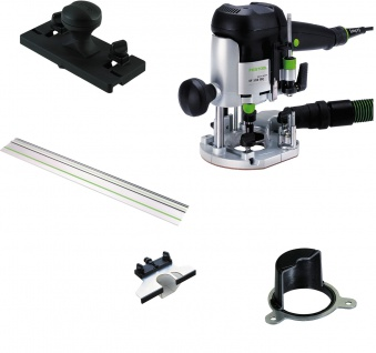 FESTOOL Oberfräse OF 1010 EBQ-Set inkl. Systainer - 574375