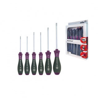 Wiha MicroFinish® TORX® Schraubendrehersatz, 6-tlg. - 5527 K6