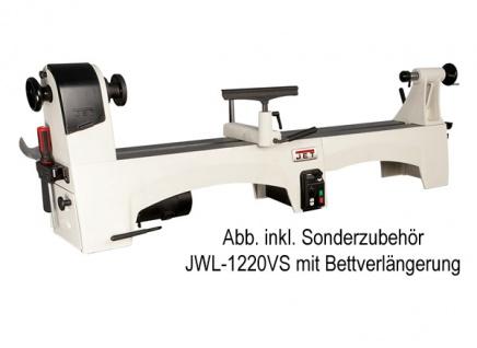JET Maschinenbettverlängerung 560 mm für JWL-1221VS Drechselbank - Vorschau 2