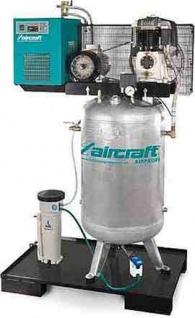 Aircraft - AIRPROFI 853/270/10 VKK - Stationärer Kompressor mit 10 bar, stehendem Behälter, Kältetro