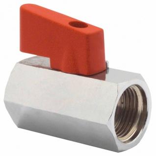 Elmag - Kugelhahn IG Ø 1/4 Zoll oder Ø 3/8 Zoll, leichte Ausführung