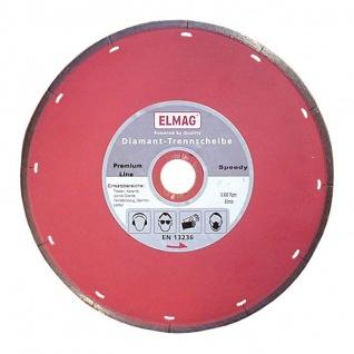 Elmag Diamantscheibe PREMIUM LINE TWISTER (Bohrung: 22, 2 mm) 230 mm