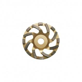 Elmag Diamant-Schleiftopf 125mm UNIVERSAL GOLD (Beton, Granit,...) (Bohrung ...