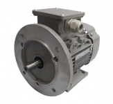 Drehstrommotor 0, 25 kW - 1000 U/min - B3B5 - 230/400V