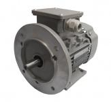 Drehstrommotor 0, 75 kW - 1500 U/min - B3B5 - 230/400V - ENERGIESPARMOTOR IE2