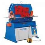 Metallkraft HPS 65DS - Kominierte hydraulische Profilstahlschere / Lochstanze