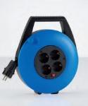 HEDI - KBB10T Kabelbox in blau - Für den Einsatz in trockener Umgebung