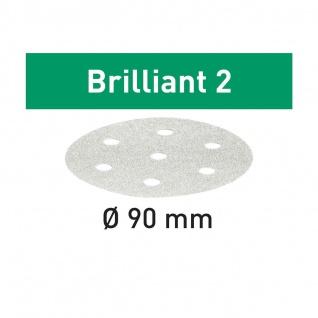 FESTOOL Schleifscheiben STF D90/6 Brilliant 2 - Verschiedene Körnungen - Vorschau 2
