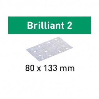 FESTOOL Schleifstreifen STF 80x133 BR2/100 Brilliant 2 - Vorschau 2