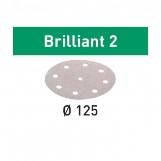 FESTOOL Schleifscheiben STF D125/8 BR2/100 Brilliant 2 - Vorschau 2