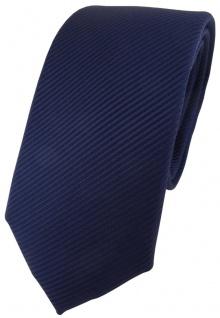 Modische TigerTie Designer Krawatte in marine dunkelblau fein gestreift