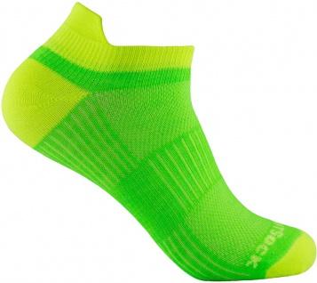 Profi Sportsocke Sneakers Low Tab Gr. L - lemon, - anti-blasen Socken WRIGHTSOCK