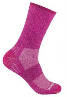WRIGHTSOCK Laufsocke Wandersocke -anti-blasen-system- lange - Pink Socke Gr.L