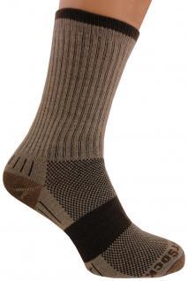 WRIGHTSOCK Laufsocke, Wandersocke -anti-blasen-system- lange braune Socken Gr. S