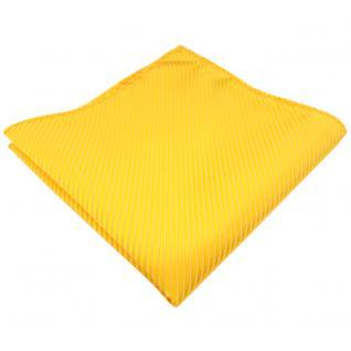 schönes Einstecktuch in gelb goldgelb sonnengelb gestreift - Tuch 100% Polyester