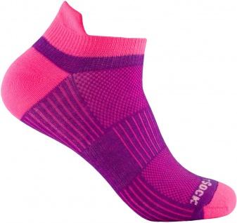 Profi Sportsocke Sneakers Low Tab Gr. L - pink, - anti-blasen Socken WRIGHTSOCK