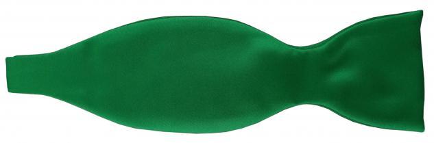 TigerTie Satin Selbstbinder Fliege grün leuchtgrün Uni einfarbig + Geschenkbox