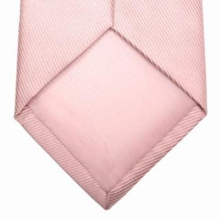 Mexx Krawatte in Uni rosa Seide Silk - Vorschau 5