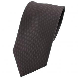 TigerTie Krawatte schwarz anthrazit gemustert - Tie Binder
