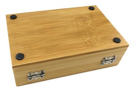 TigerTie - Weinset in Bambus-Box, Kellnermesser, Weinkragen, Flaschenverschluss - Vorschau 4