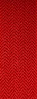 breiter TigerTie Herren Hosenträger mit 4 Clips in X-Form - Farbe rot - Vorschau 5