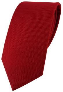 Blick. elementum Seidenkrawatte rot blutrot Punktstruktur - Krawatte 100% Seide