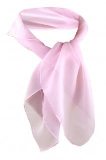 TigerTie Damen Chiffon Nickituch rosa Gr. 50 cm x 50 cm - Tuch Halstuch Schal
