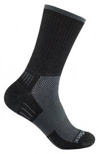 WRIGHTSOCK Laufsocke Wandersocke -anti-blasen-system- lange schwarze Socken Gr.S