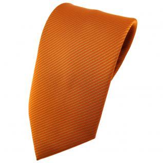 TigerTie Krawatte orange tieforange signalorange gestreift - Tie Binder