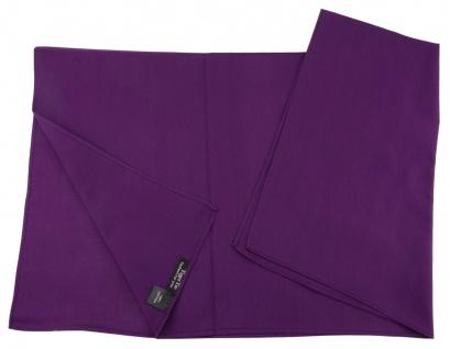 TigerTie Nickituch Halstuch in lila Uni - Tuchgröße 60 x 60 cm - 100% Baumwolle