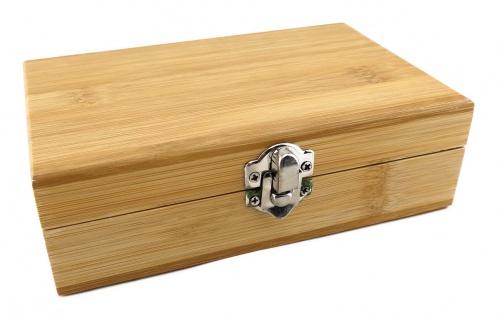 TigerTie - Weinset in Bambus-Box, Kellnermesser, Weinkragen, Flaschenverschluss - Vorschau 3