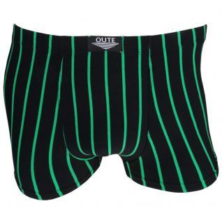 Shorts Boxershorts Unterhose Pants Retro schwarz-grün Baumwolle Gr. XXL