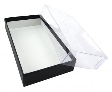 TigerTie Kleinkinder Baby Fliege Pique in schwarz mit Gummizug verstellbar + Box - Vorschau 3